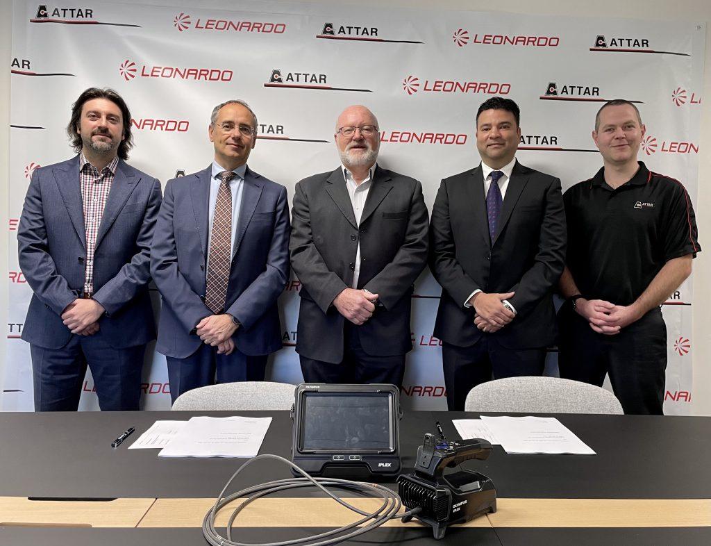 ATTAR and Leonardo Australia new partnership to deliver advanced NDT