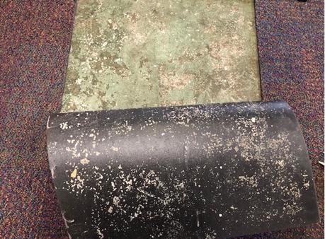 Example of subfloor failure